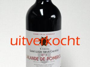 Lalande-de-Pomerol-uitverkocht